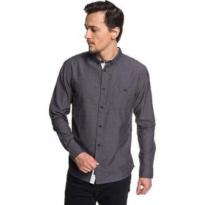 Quiksilver Mens Long Sleeve Button Down Shirt NWT